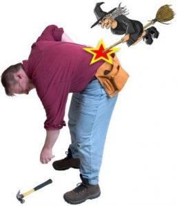 Il Mal di schiena causato dal lavoro