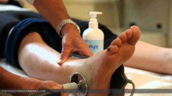 tecarterapia caviglia