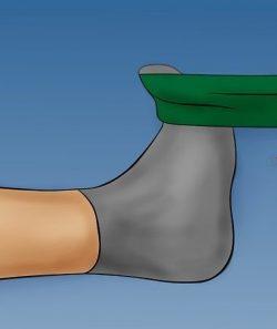 rinforzo della caviglia dopo distorsione