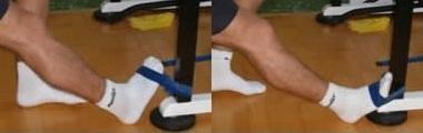 rinforzo caviglia