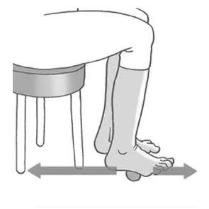 esercizio di equilibrio articolare