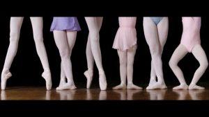 infiammazioni nelle ballerine