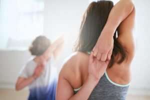 Stretching delle braccia