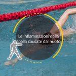 Le infiammazioni della spalla causate dal nuoto