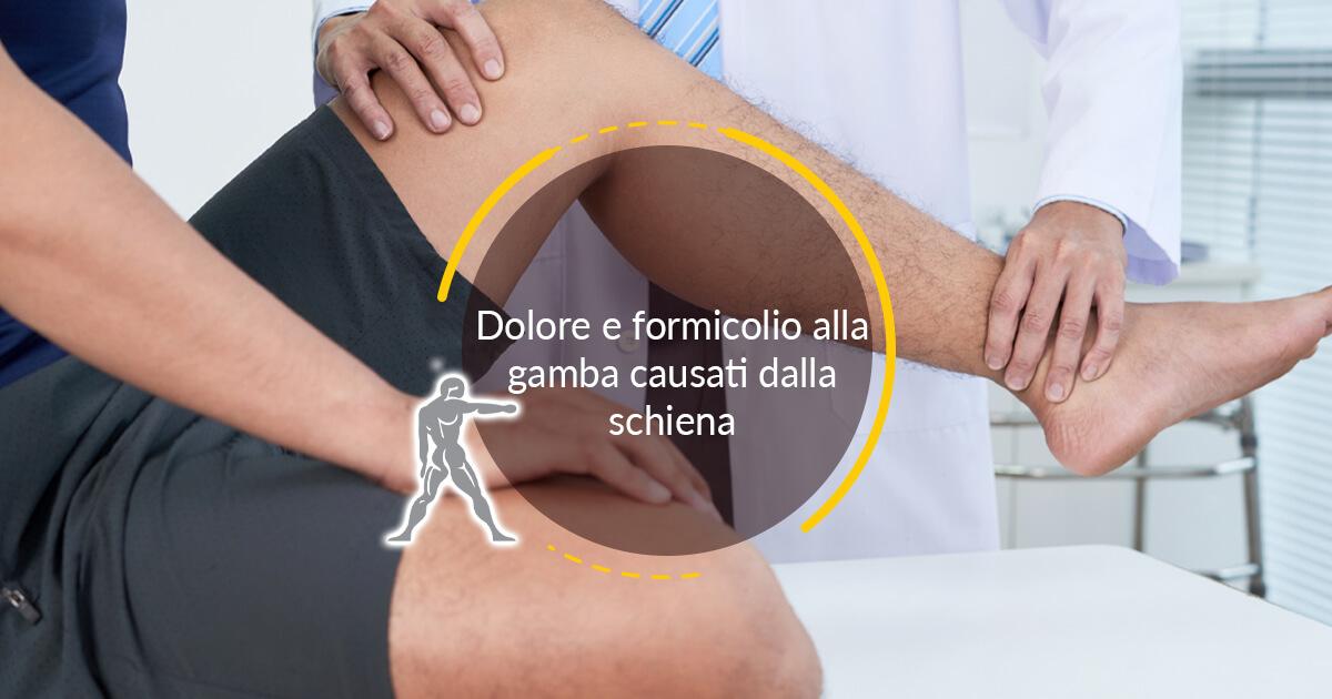 Dolore E Formicolio Alla Gamba Causati Dalla Schiena Ryakos Fisioterapia