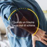 Quando un trauma causa mal di schiena